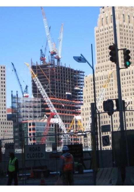 Cranes Over Ground Zero