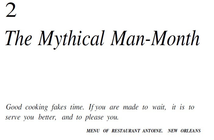 the mythical man month pdf