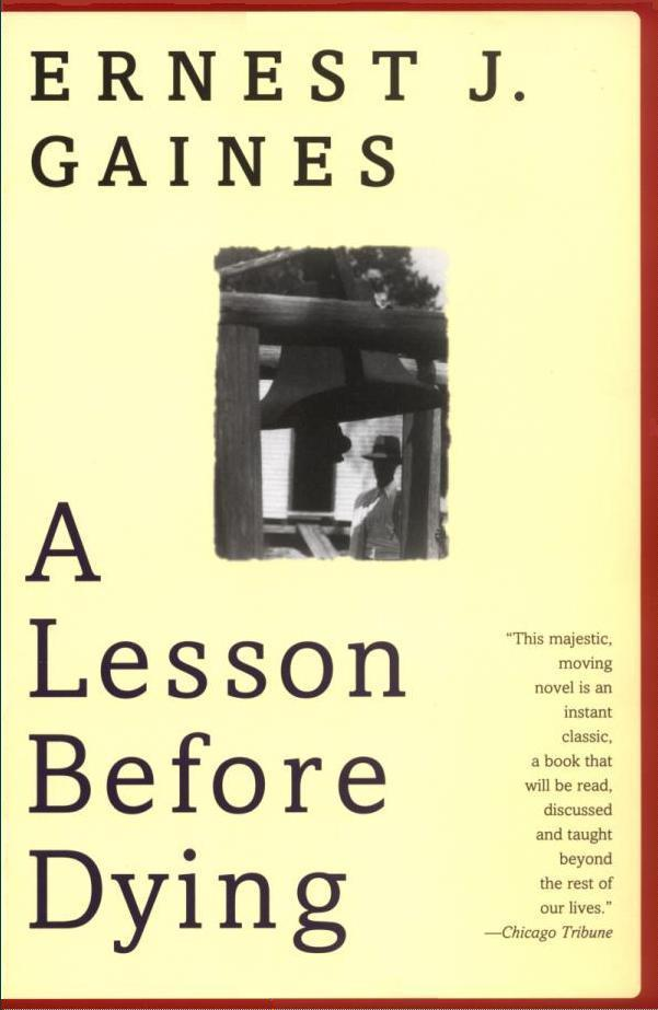 Lesson Before Dying Book Cover
